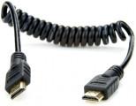 FULL-FULL HDMI 4K60p spirál kábel (40 cm)